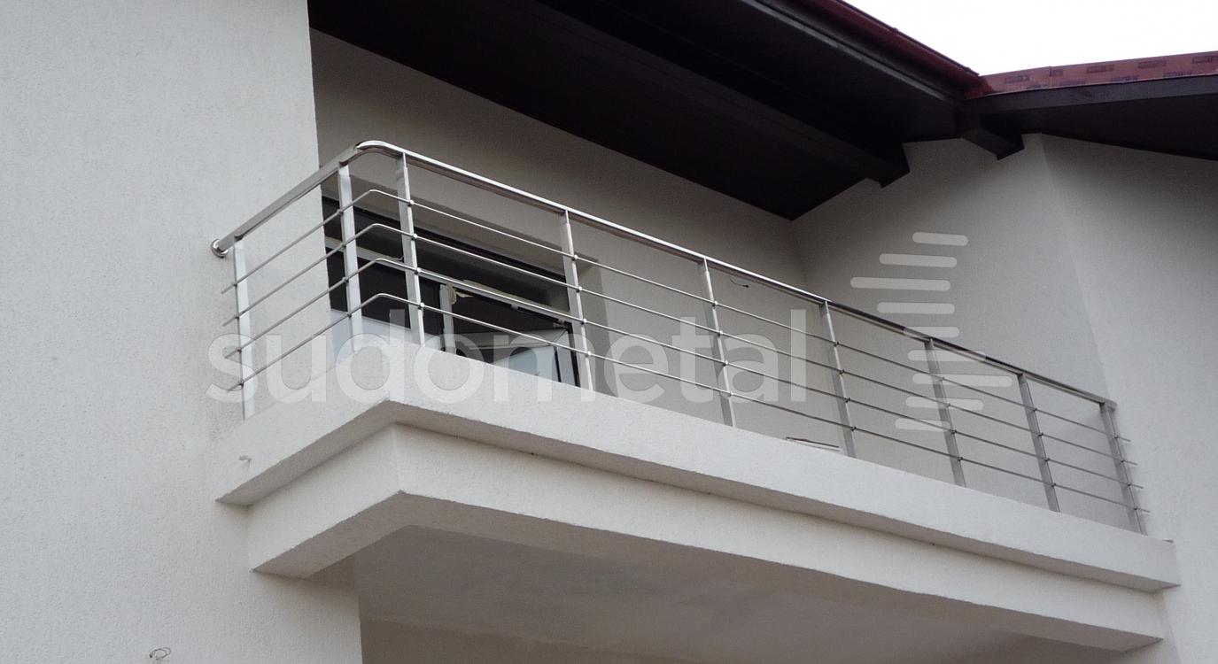 balustrada pentru balcon din inox. Black Bedroom Furniture Sets. Home Design Ideas