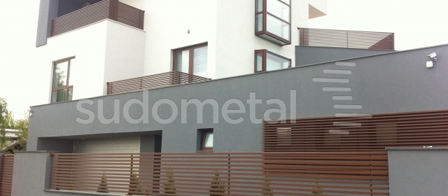Balustrada balcon din metal BT 032