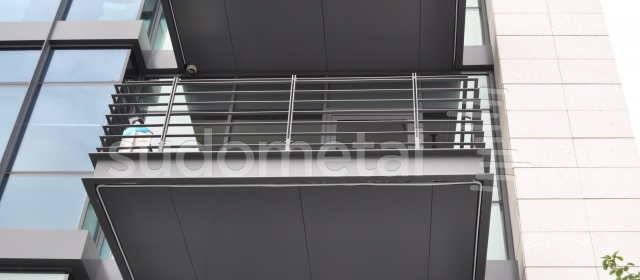 Balustrada balcon din metal BT 020